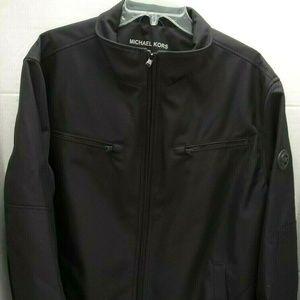 NWT Michael Kors Mens Moto Bomber Jacket Coat